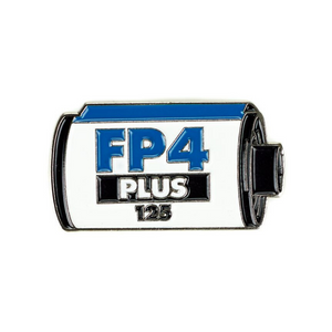 Ilford FP4 Plus 125 Enamel Pin-Film Bros