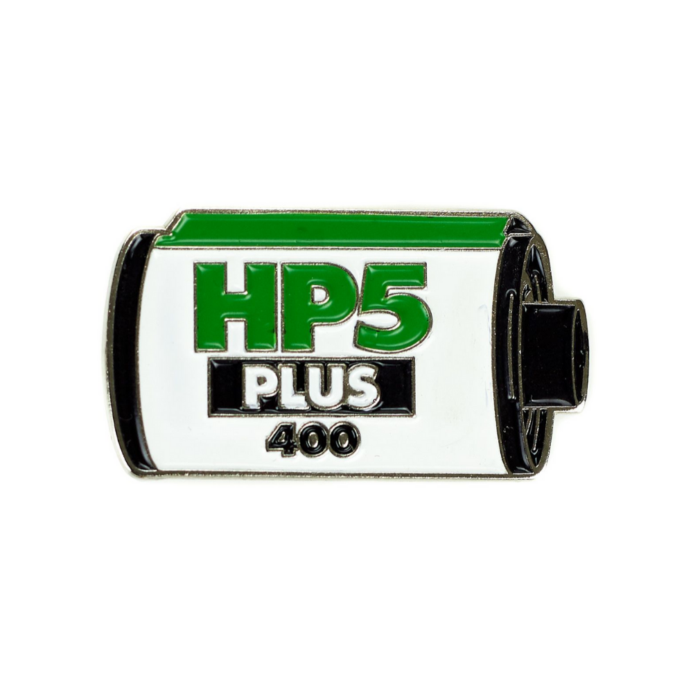 Ilford HP5 Plus 400 Enamel Pin-Film Bros