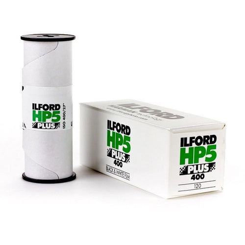 Ilford HP5 Plus 400 B&W 120 Film-Film Bros