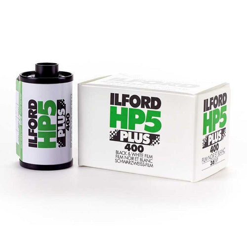 Ilford HP5 Plus 400 B&W 35mm Film (36exp)-Film Bros