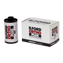 Load image into Gallery viewer, Ilford Ortho Plus 80 B&W 35mm Film (36exp)-Film Bros