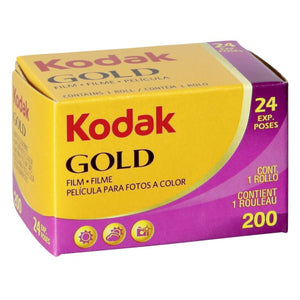 Kodak Gold 200 35mm Film (24exp) - film-bros