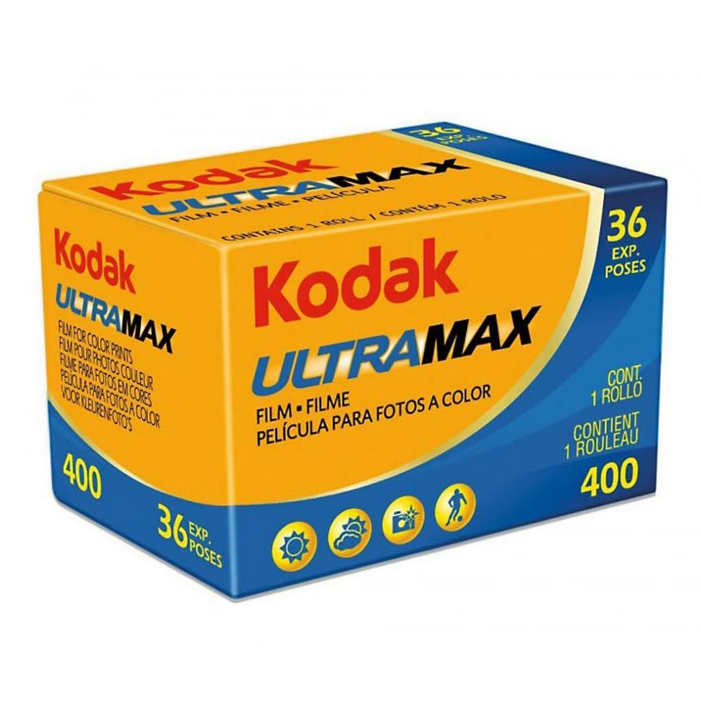 Kodak UltraMax 400 35mm Film (36exp)-Film Bros