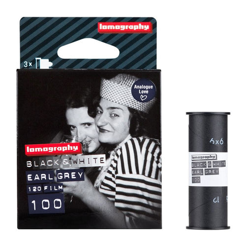 Lomography Earl Grey 100 B&W 120 Film 3 Pack-Film Bros