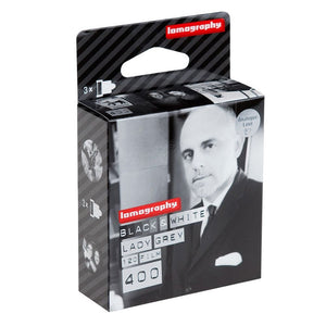 Lomography Lady Grey 400 B&W 120 Film 3 Pack-Film Bros