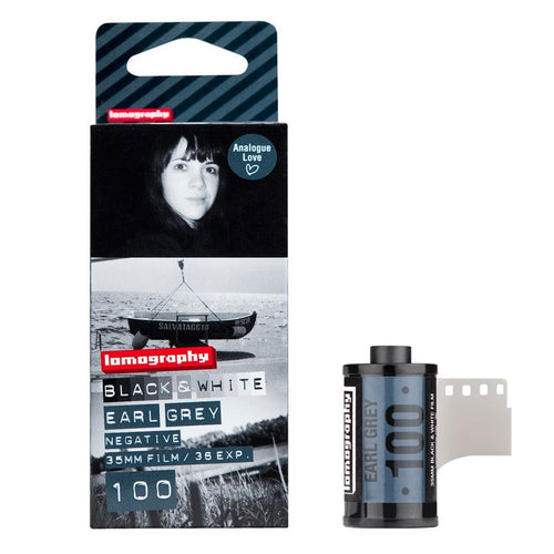 Lomography Earl Grey 100 B&W 35mm Film (36exp) 3 Pack-Film Bros