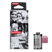 Lomography Lady Grey 400 B&W 35mm Film (36exp) 3 Pack - film-bros