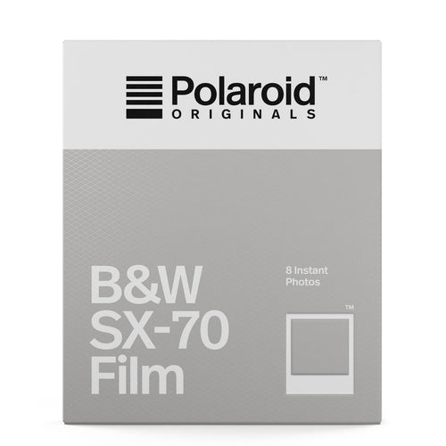 Polaroid Originals SX-70 B&W Film - film-bros