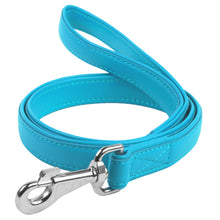 Load image into Gallery viewer, Glamour Blue Leash
