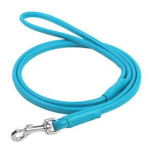 Glamour Blue Round Leash