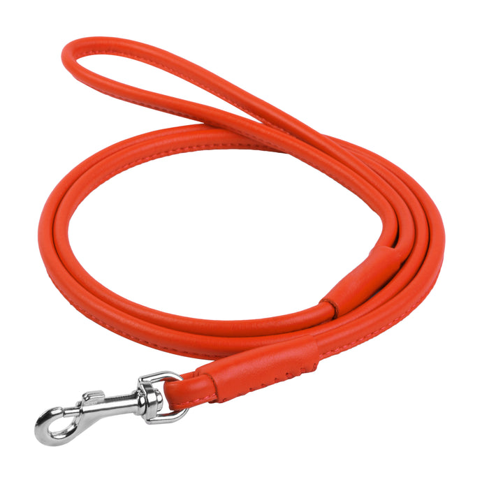 Glamour Orange Round Leash