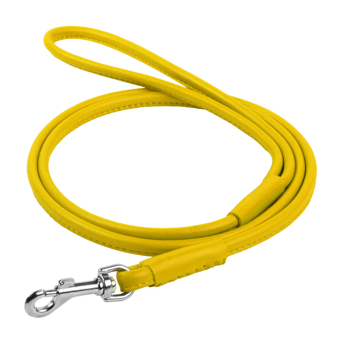 Glamour Yellow Round Leash