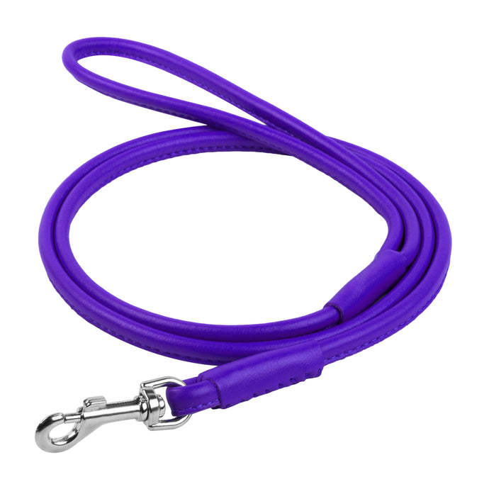 Glamour Violet Round Leash