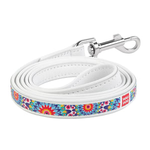 "Leash with the ""Flowers"" pattern"