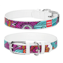 "Load image into Gallery viewer, Dog collar with the ""Summer"" pattern"