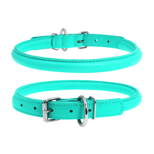 Glamour Mint Round Dog Collar