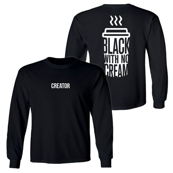 The 'CREATOR' long-sleeve - BLACK