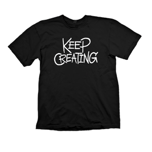 The 'Keep Creating' Tee - BLACK