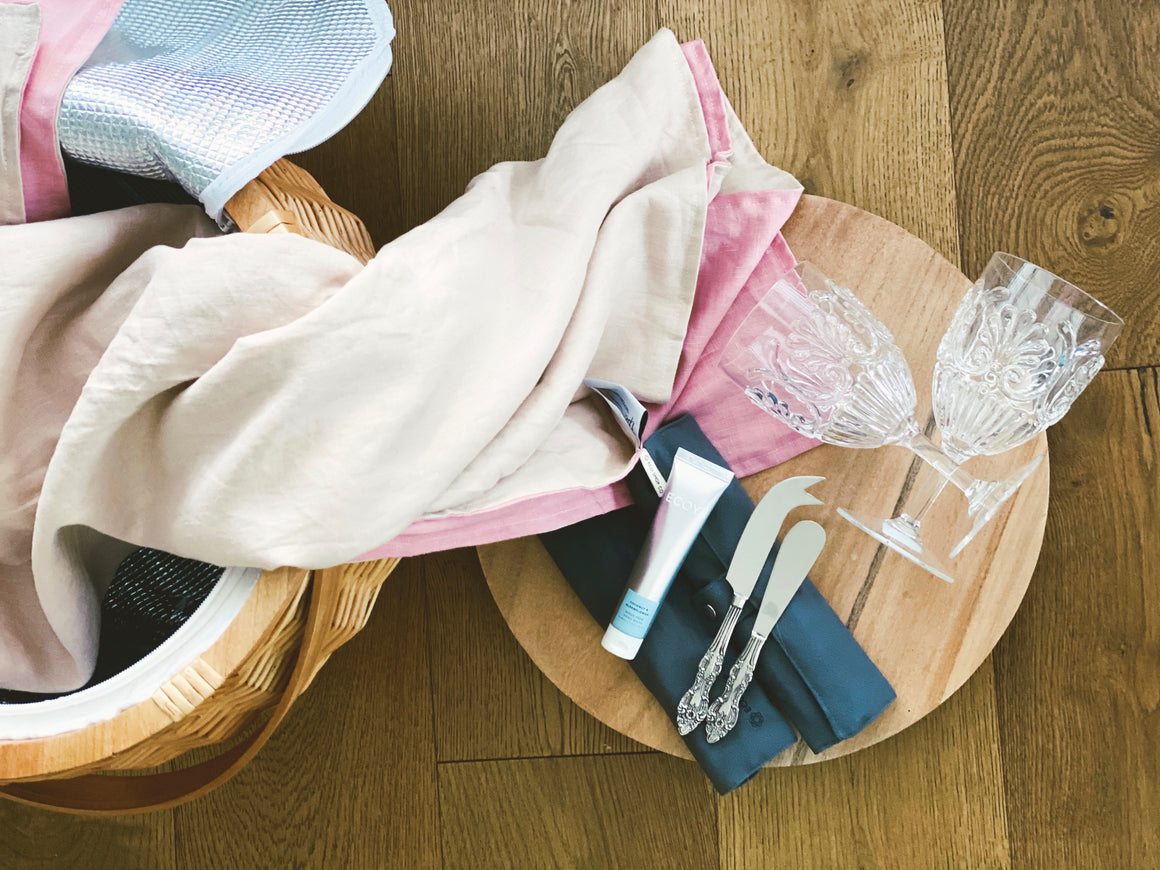 Complete Picnic Set - Large Neutral & Pink