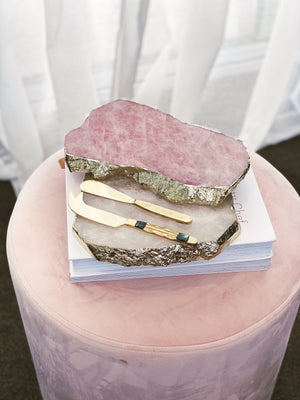 Rose Quartz Board - Medium
