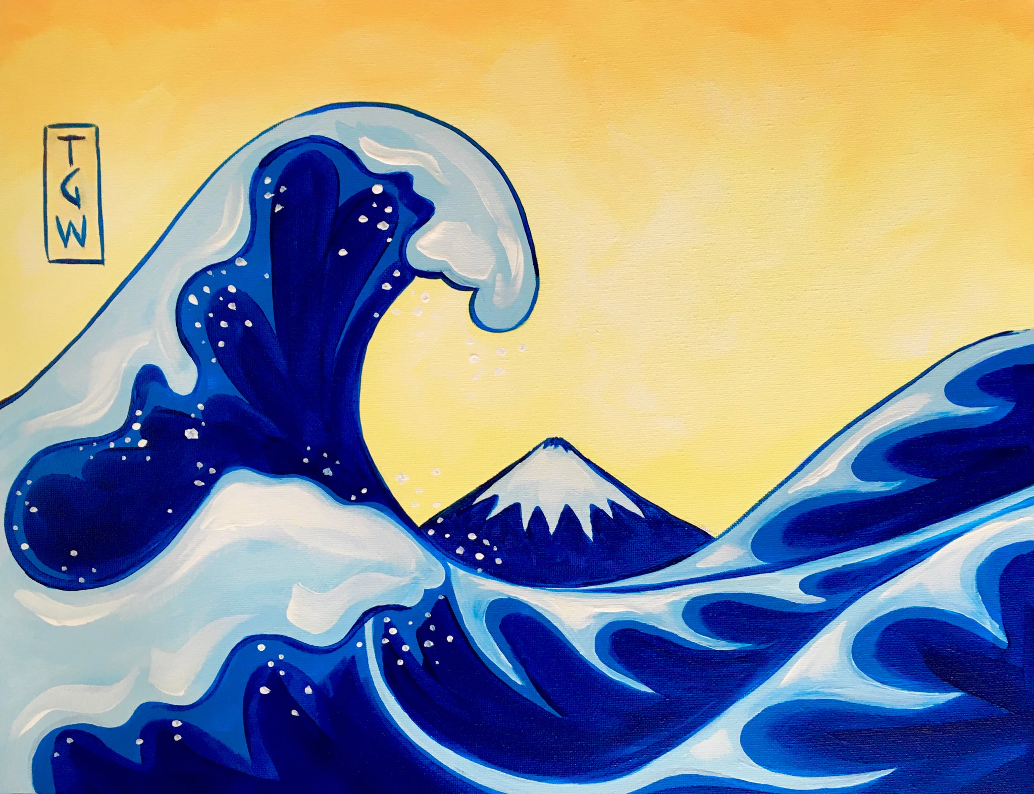 Great Wave - Paintvine Online