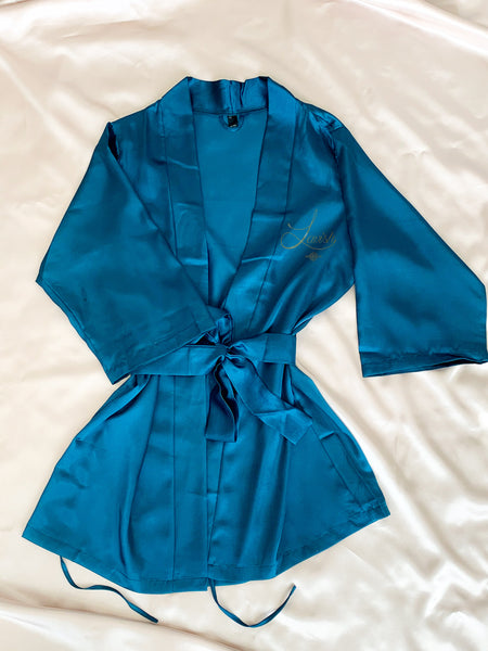 Classic Satin Robe | TLB.LUX