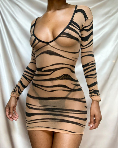 Tigress Mini Dress | Wildly Fun