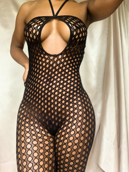 Roulette Bodystocking | NOIR