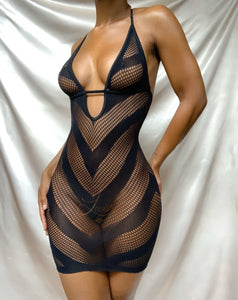 Isis Mini Dress | NOIR