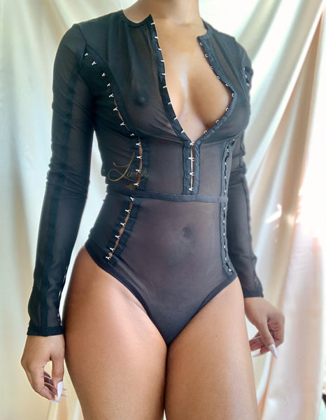 Lync Up Bodysuit | NOIR