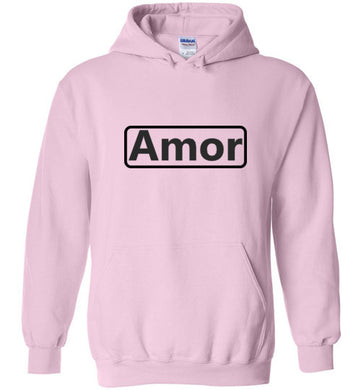 Amor (Spanish) Hoodie - UniqXpression