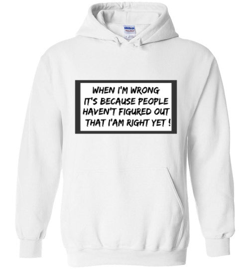 Always Right Hoodie - UniqXpression