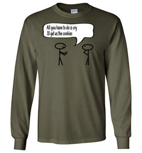 Get The Cookies Long Sleeve - UniqXpression