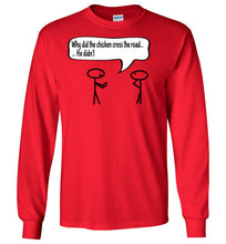 Youth Chicken Joke Long Sleeve - UniqXpression