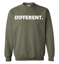 Different. Sweatshirt