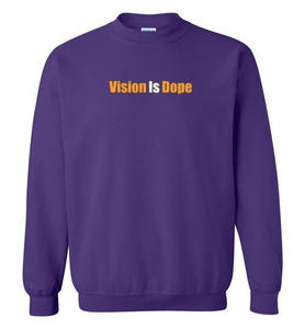 Vision Over Hope (Front & Back Print) Sweatshirt