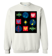 Love & Music Sweatshirt - UniqXpression