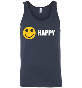 Happy Mens Tank - UniqXpression