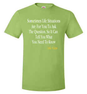 Life Facts: Life Situations - UniqXpression
