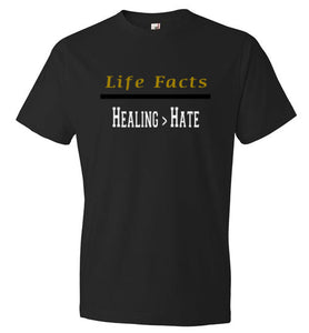 Life Facts: Healing > Hate - UniqXpression