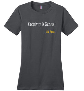Life Facts: Creativity Genius - UniqXpression