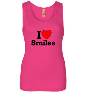 I Love Smiles Tank - UniqXpression