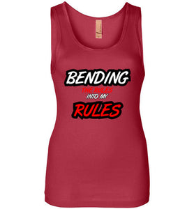 BENDING THE RULES Tank - UniqXpression