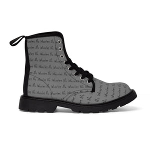 No Worries Canvas Boots