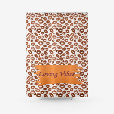 Loving Vibes Shower Curtain