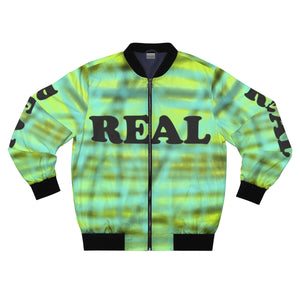 Real AOP Bomber Jacket