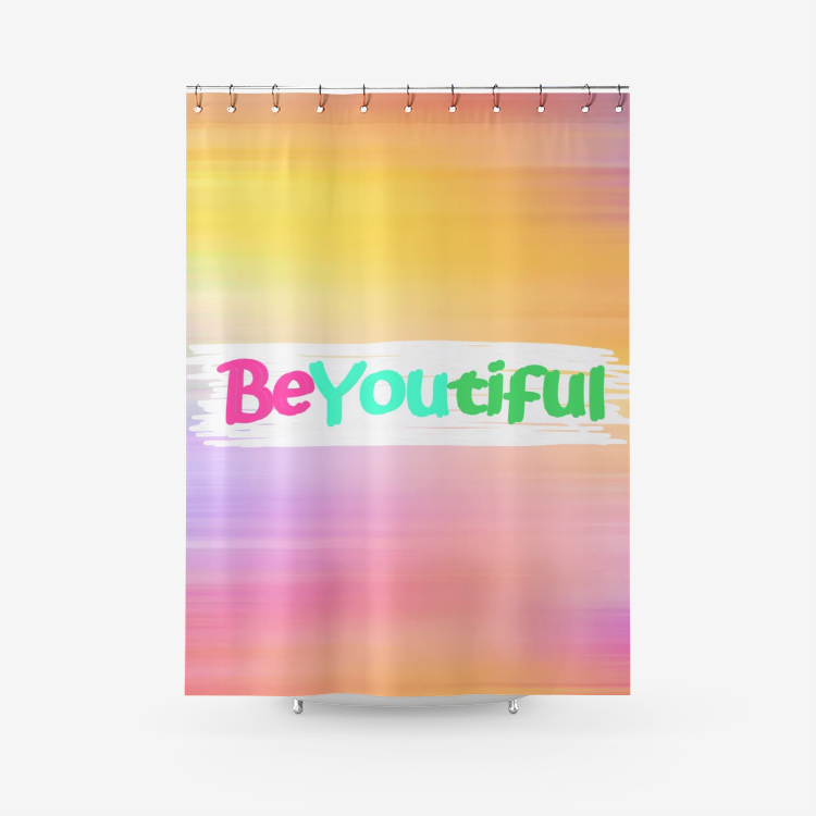 BeYoutiful Shower Curtain