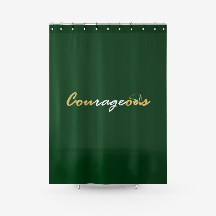 Courageous Shower Curtain