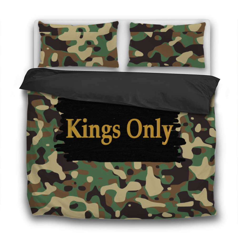 Kings Only 3 Pcs Bedding Sets