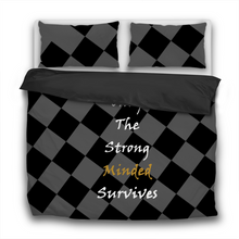 Only The Strong Minded Survives 3 Pcs Bedding Sets